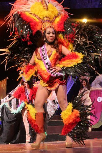 Regina ladyboy of Bangkok Miss Peru finalist