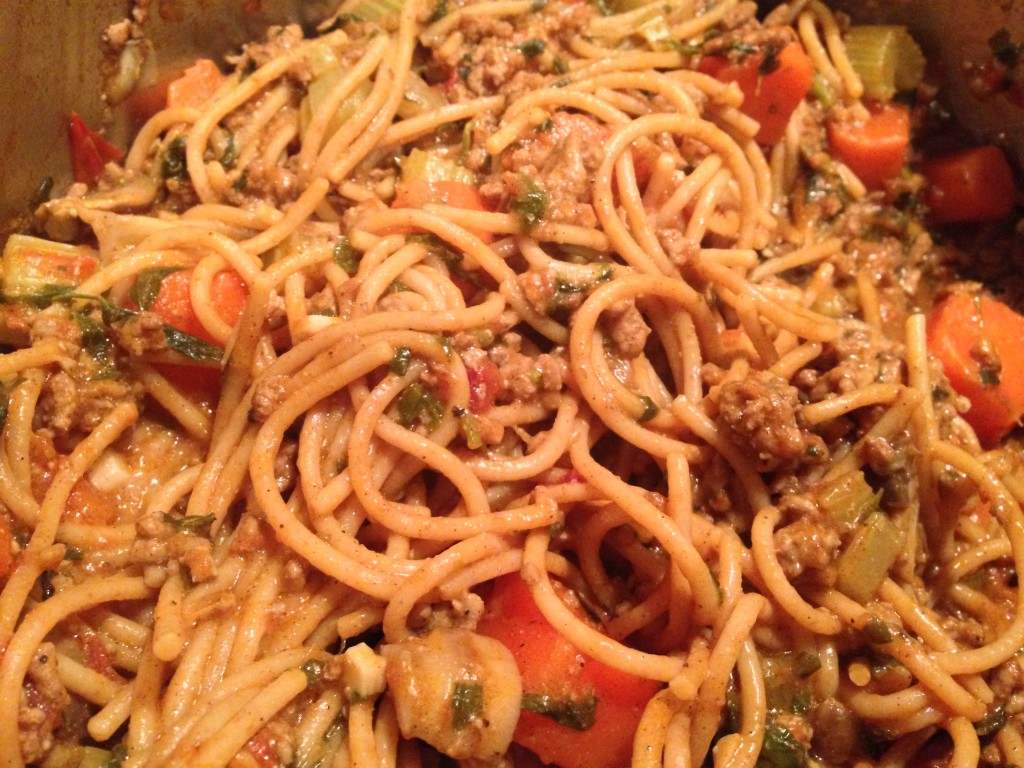 Spaghetti Bolognese - Greek recipe - Nomadic Boys