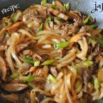 Yaki Udon Japanese noodles recipe