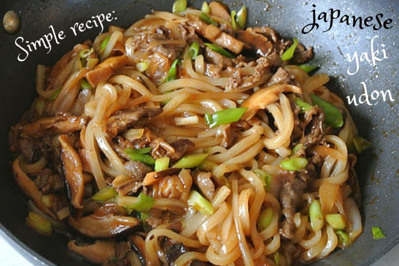Yaki Udon is a classic Japanese noodle prize and one of our favourite ...