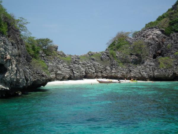 Koh Haa island in Thailand