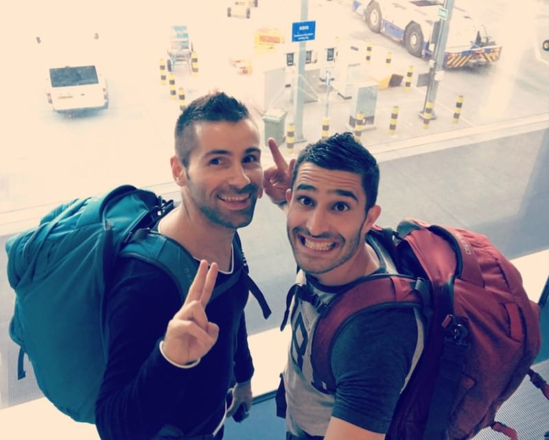 Nomadic Boys gay travel blog Stefan Arestis and Sebastien Chaneac gay travel bloggers