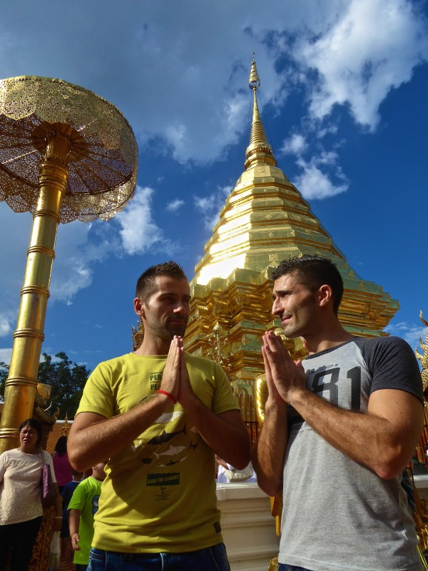 Thailand gay travel guide Chiang Mai Doi Suthep Temple