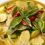 Thai Green chicken curry for beginners