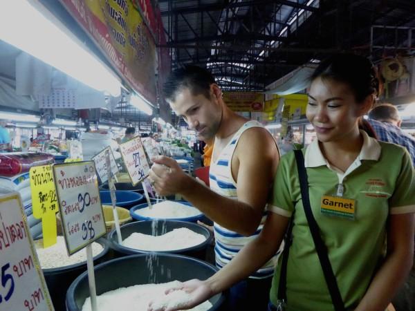 Local market Chiang Mai Thailand