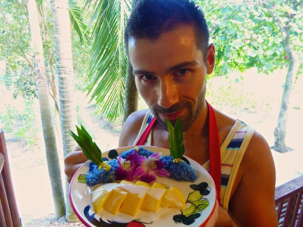 Mango sticky rice cooking school highlights of Chiang Mai
