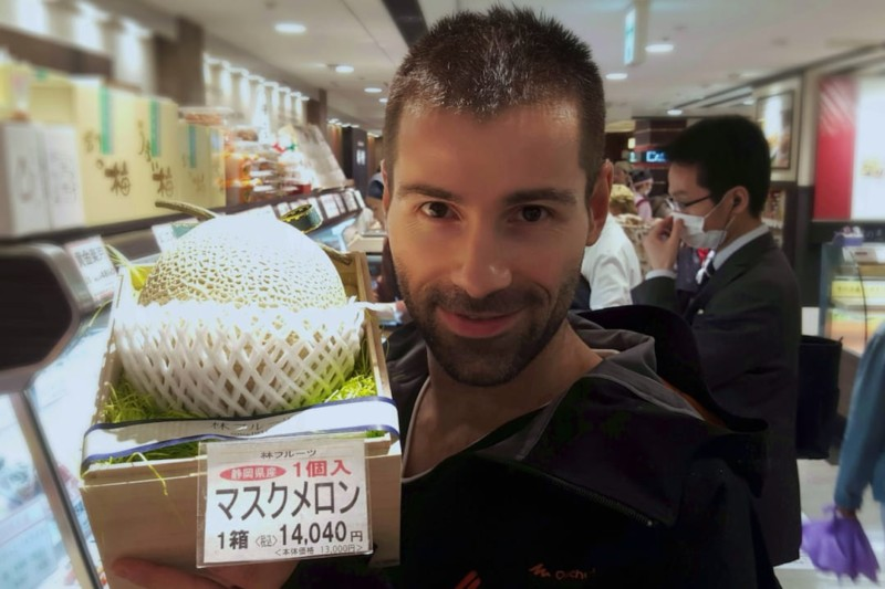Expensive fruit one of 10 interesting facts about Japan