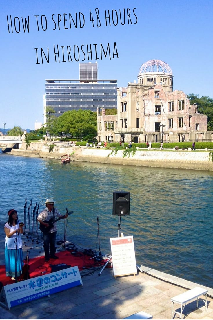Nomadic Boys travel blog how to spend 2 days in Hiroshima