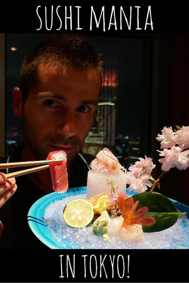 Nomadic Boys best sushi in Tokyo