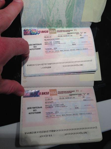 trans siberian visa Russian visas
