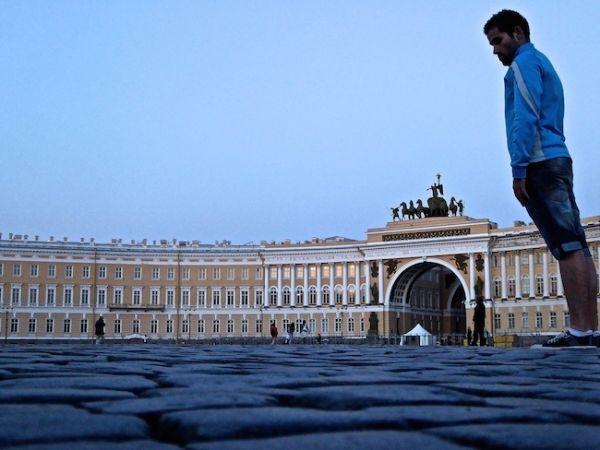 Place du Palais avec Seb