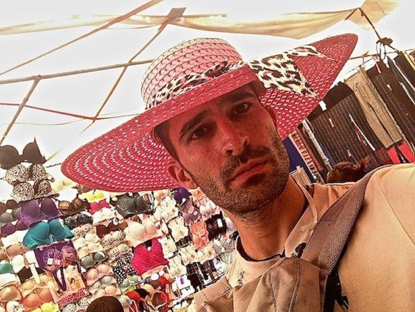 Stefan's beautiful new hat