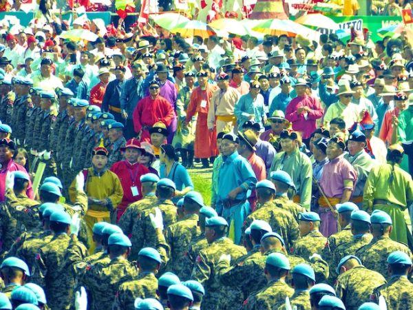 Naadam festival in Ulan Bator
