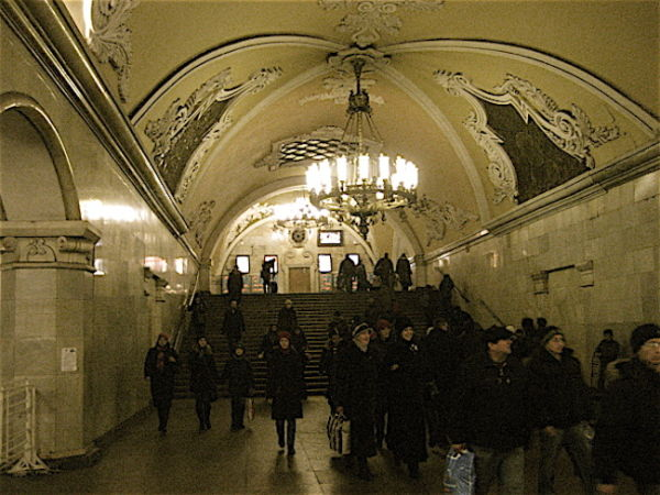 Moscow's beautiful metro