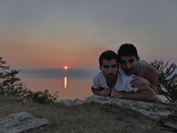 Un autre coucher de soleil sur le lac Baïkal