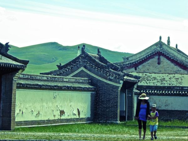 Erdene Zuu monastery at Kharkhorin
