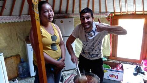 Mongolian food and drink