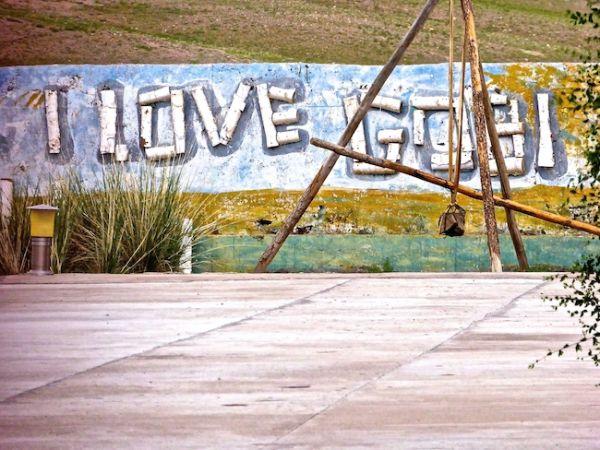 I love Gobi graffiti