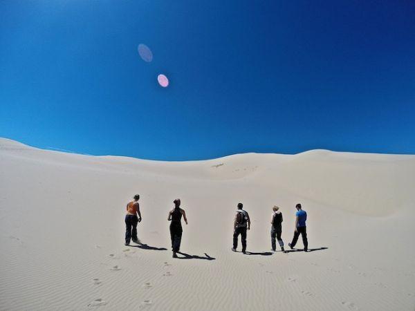 Les dunes de sable de Khongoryn Els dans le désert de Gobi