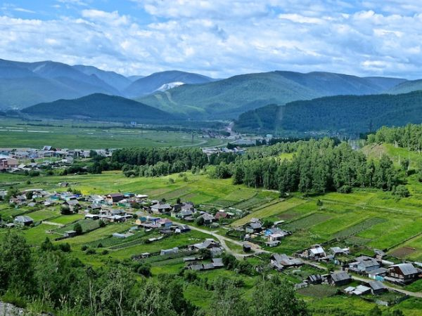 Change in the Siberian scenery