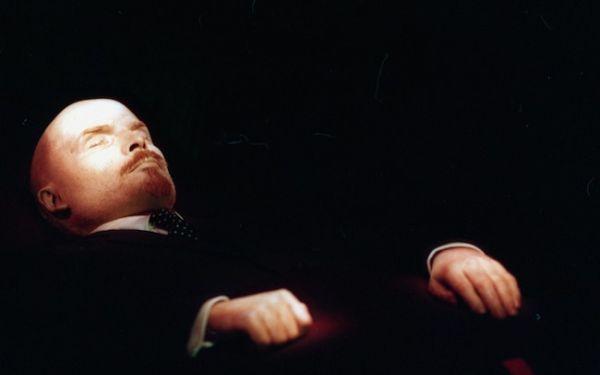 Lenin preserved body
