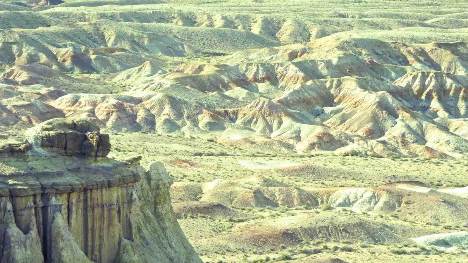 Tsagaan Suvraga Mongolian landscape