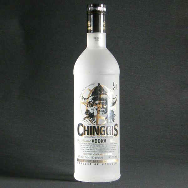 La vodka mongole : Chinggis Khan