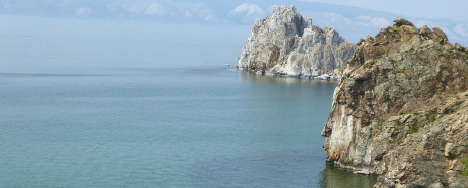 Olkhon Island on lake Baikal