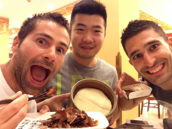 Manger du canard laqué pour la première fois à Pékin