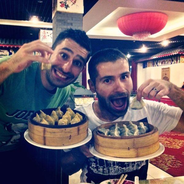 Dumplings et raviolis cuita à la vapeur pour les nomadic boys