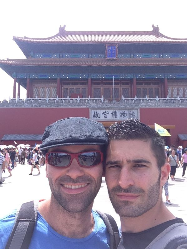 Nomadic Boys' Forbidden City selfie