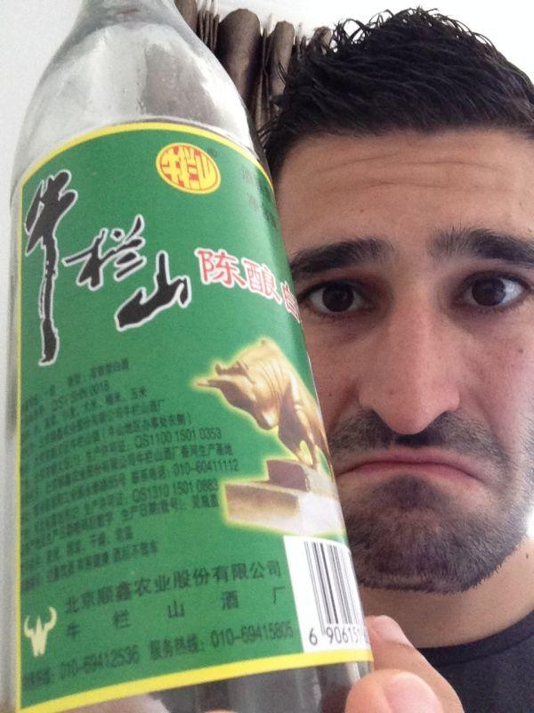 Baiju alcool de riz chinois au goût infâme