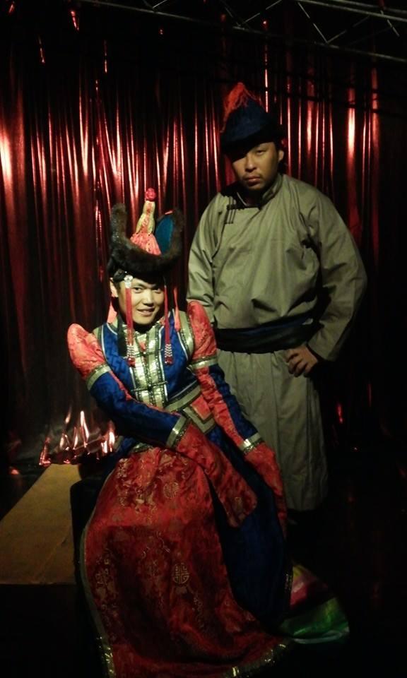 Mongolian drag act at Hanzo