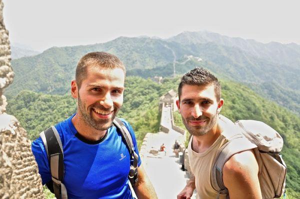 The Nomadic Boys at Mutianyu - Great Wall of China
