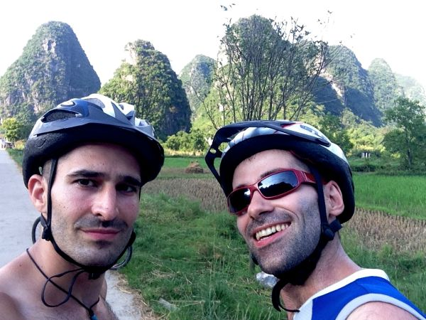 Cycling in Yangshuo - Guangxi Province