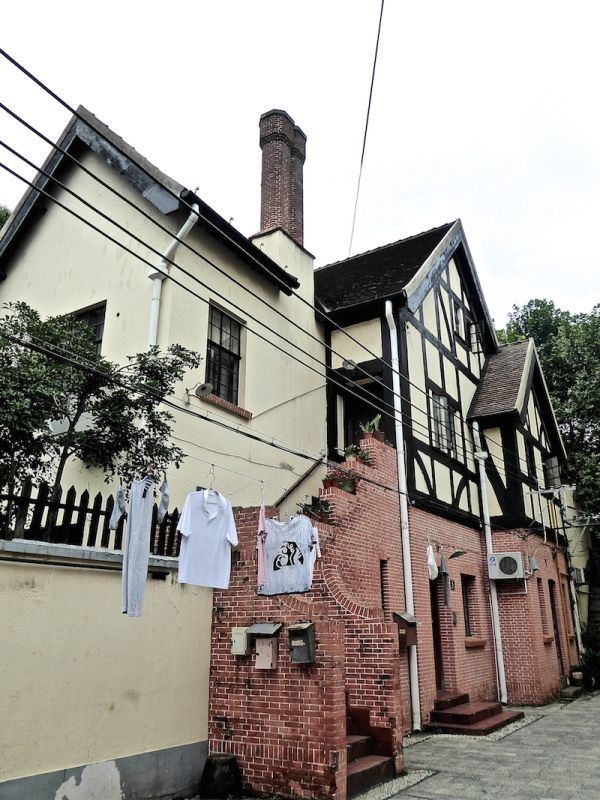 Photo from the very cosmopolitan French Concession area in Shanghai