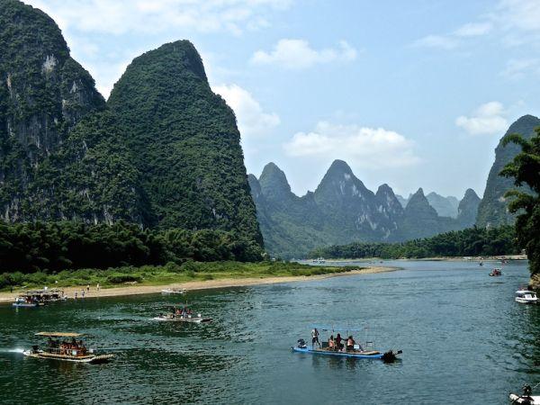 Xingping et le billet de 20 Yuan, Yangshuo