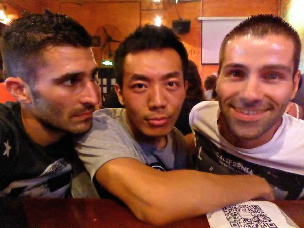 A gay night out in Xi'An with our local friend Cass