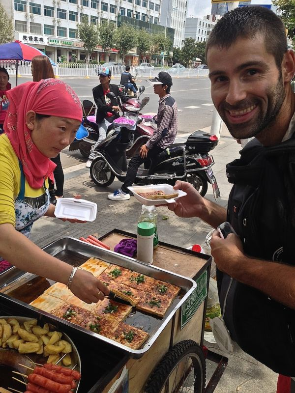 street food for cycling in Yangshuo