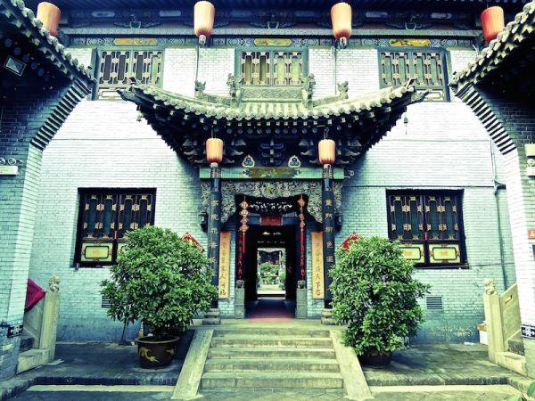 Temple dans la vieille ville de Pingyao