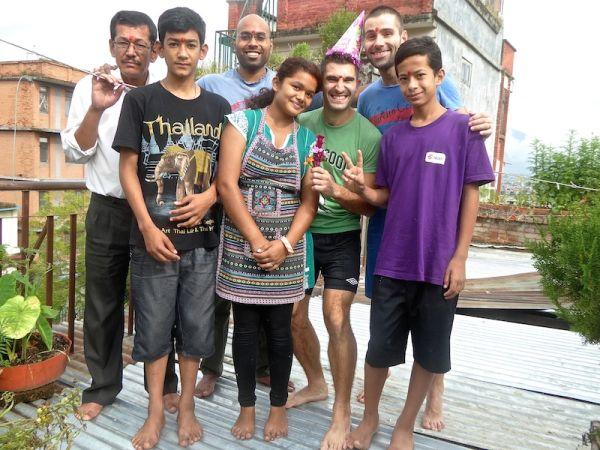 how i spent my birthday in kathmandu - nomadic boys