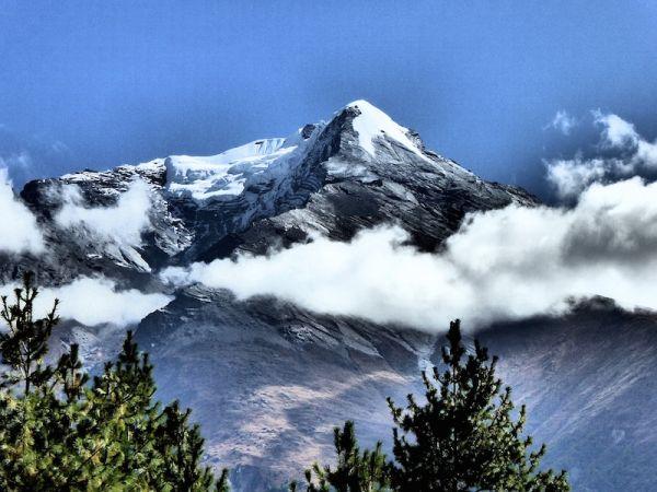 Pic de Pisang Himalayas