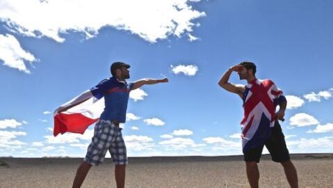 Nomadic Boys' Mongolian Mashup video
