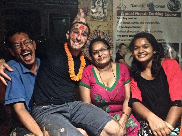 Happy birthday in Kathmandu, Nepal