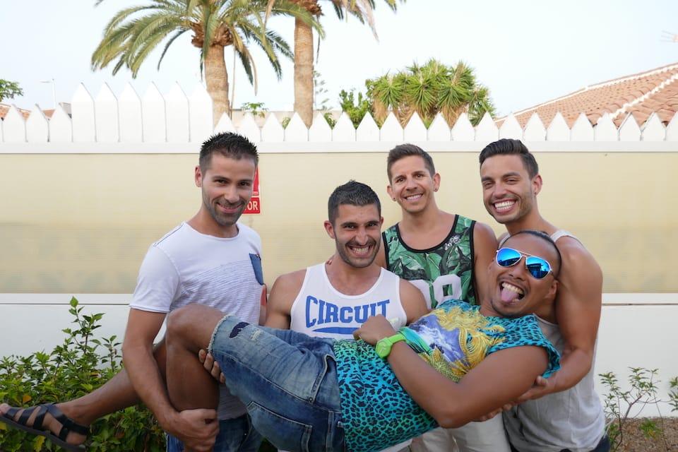 Gay travel bloggers Nomadic Boys DJ Yabis Two Bad Tourists