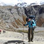 Crossing Thorong La Pass, Annapurna trek
