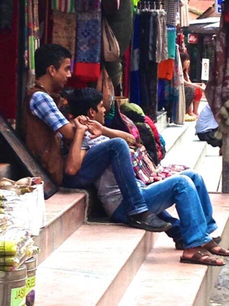 Gay Nepalese: boys in Kathmandu
