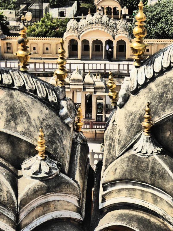The views from the Hawa Mahal Palace