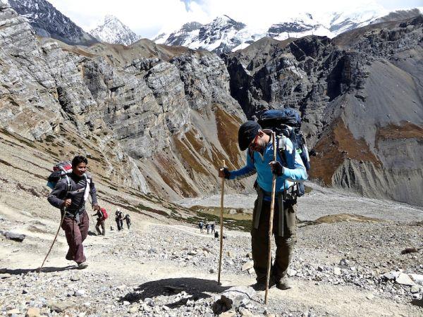 mal des montagnes tour des annapurnas