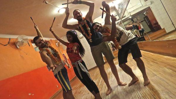 Dandiya dance class